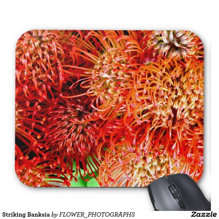 Striking Banksia Mouse Pad