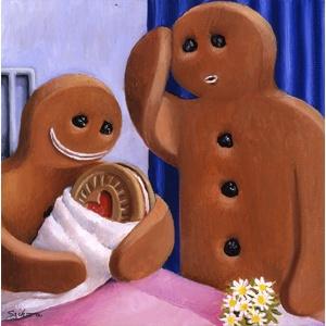 Sarah-Jane Szikora - Who's the daddy?Plans Funny, Funny Inspiration, Daddy, Sarah Janeszikora, Art, Gingerbread Families, Funny Stuff, Gingerbread Man, Sarahjane Szikora