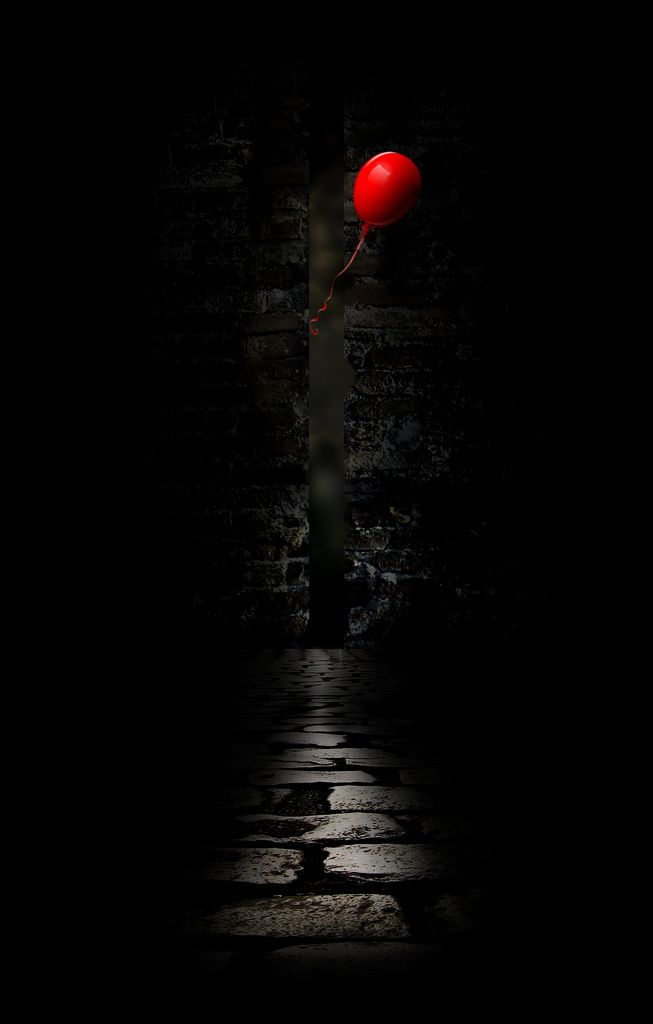 Stranger Things Iphone Wallpaper Red Balloon In 2019 My Feelings Red Photography Black
