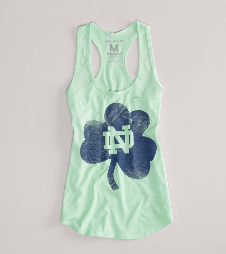 Notre Dame Fighting Irish NCAA Neon Vintage Tank