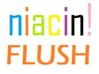 SHOWING THE WORDS NIACIN FLUSH