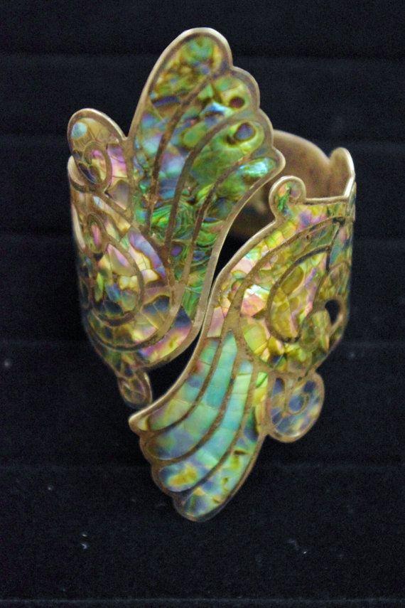 Antique Ornate Art Nouveau Bracelet.  1920