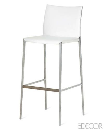 Best elegant barstools chic bar stools with backs elle for Kitchen stools cape town