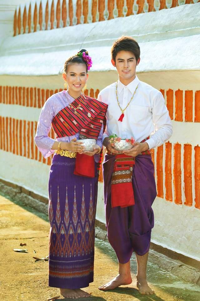 Thai Esan tradition costume   Thai tradition costume ...