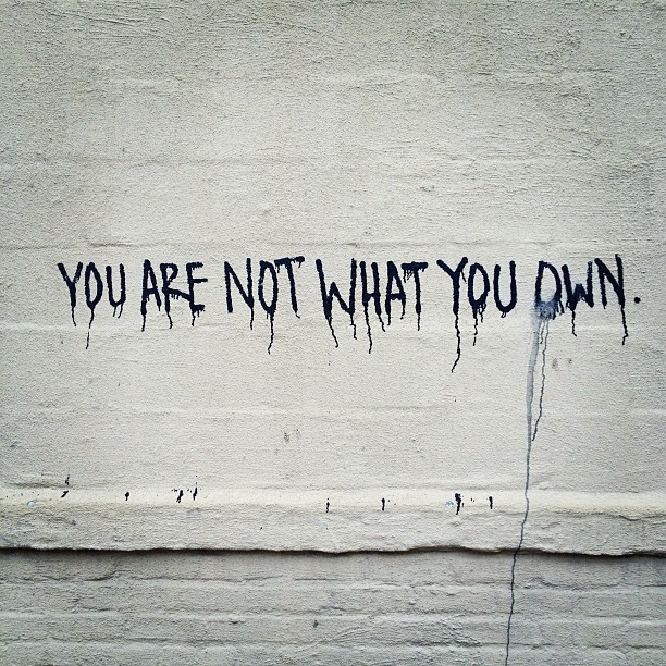 You Are Not What Your Own (@Neil Freeman)