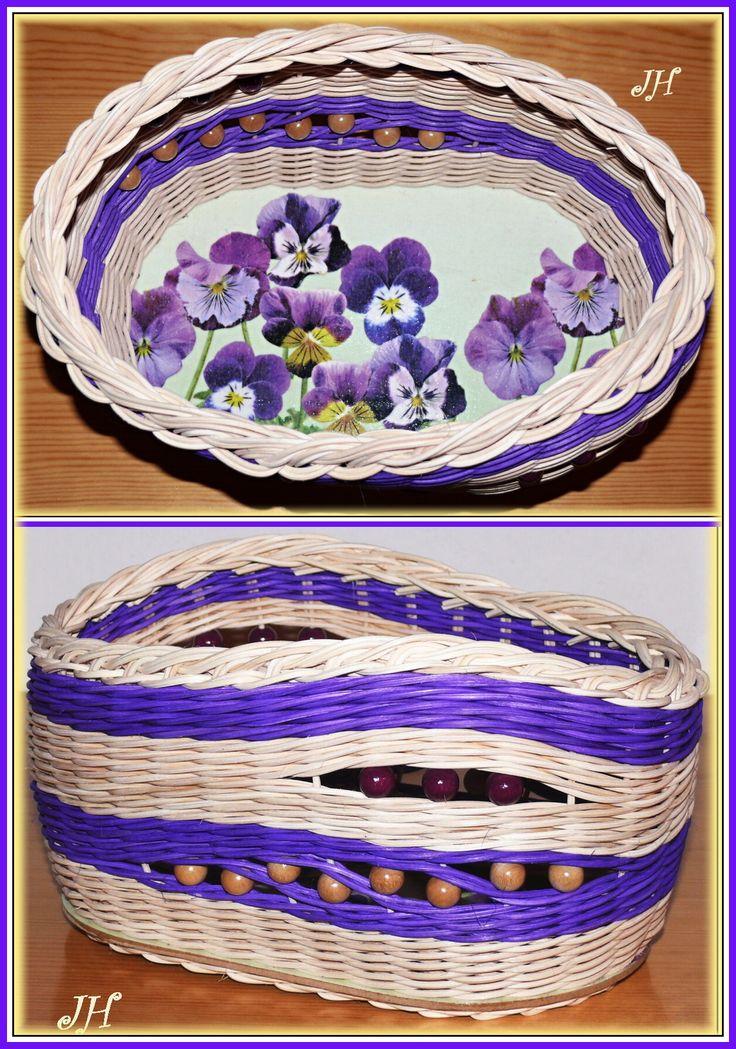 Košík fialky