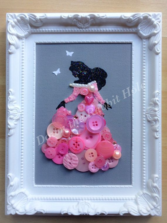 Hand painted canvas Button and bead detail Choice of any princess Canvas size 7x5 Made to order, please allow up to four weeks  Buy any 2 for £25.00 Please message myself before placing an order for the two so I can apply the discount as this will not show in your basket.