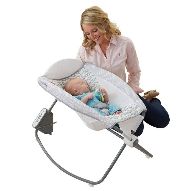 Newborn Baby Sleeper Fisher-Price Auto Rock 'N Play Rocker Relax Motion Seat New #NewbornBabySleeper