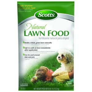 Scotts, 4,000 sq. ft. Natural Lawn Food, 46304A at The Home Depot - Mobile
