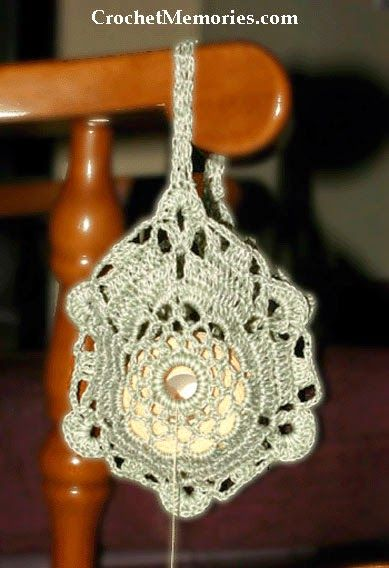 designer purses Crochet Memories Blog: Double Strand Thread Holder | Hookers' Ball |  | Thread Holder, Strands and Crochet