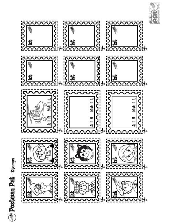 Inventive image pertaining to printable stamps