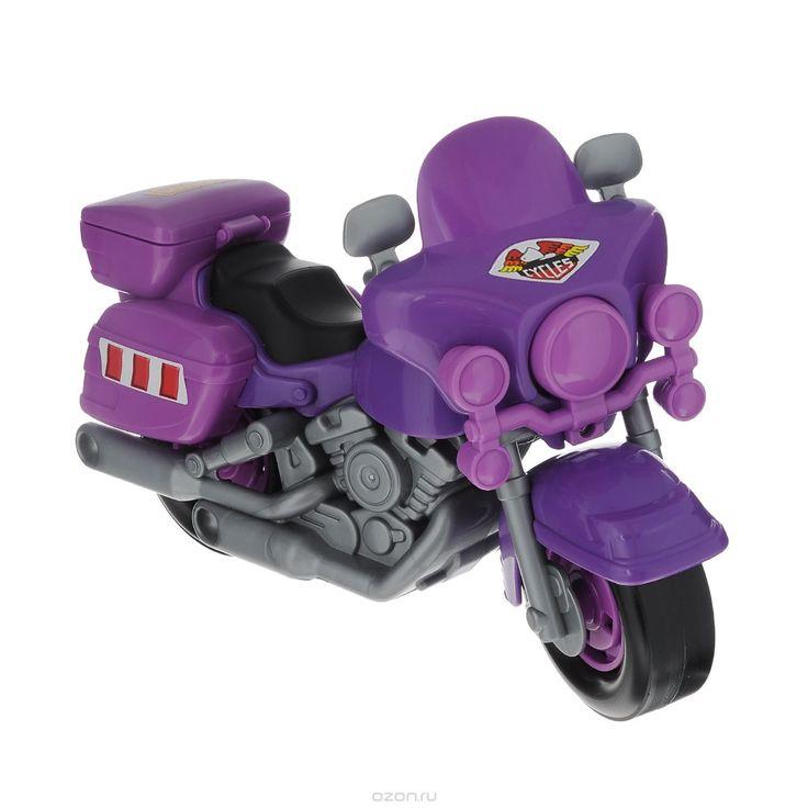 Полесье Полицейский мотоцикл Харлей цвет фиолетовый