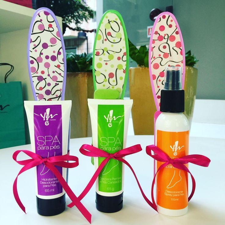 Estamos com uns Kits super fofos e com um precinho super bom! Kit Lixa para os Pés + Hidratante para os Pés por R$23,30 Kit Lixa para os Pés + Gel para os Pés e Pernas Cansadas por R$26,00 Kit Lixa para os Pés + Spray Desodorante para os Pés por R$26,90 Disponíveis aqui na loja ou venda pelo telefone (11)41912844.  #kit #presente #surpresa #pes #tudodebom #adoro #euquero #yes #yescosmetics #yesalphaville #yescosmeticsalphaville #cosmetics #cosmeticos #preçosacessiveis #alphaville #barueri
