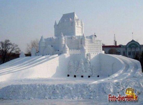 Castello di Ghiaccio - Harbin, Cina
