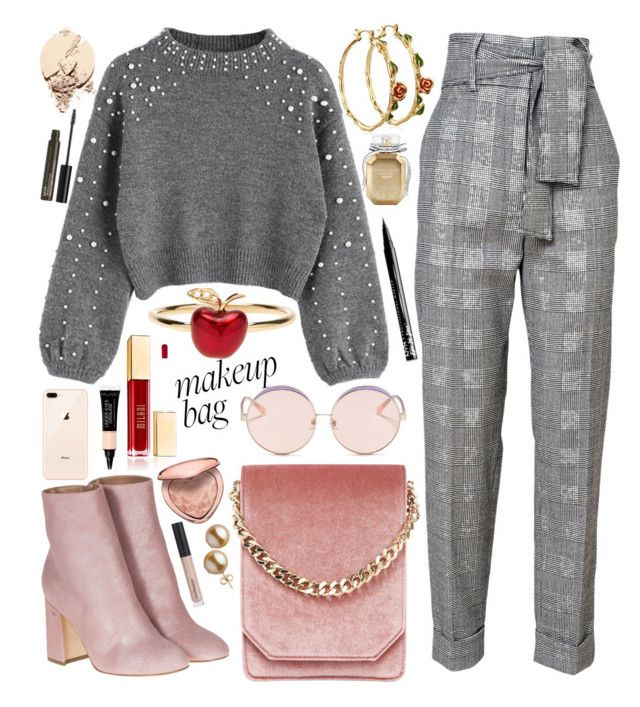 🐺 by natallie on Polyvore featuring polyvore, fashion, style, Laurence Dacade, Cafuné, Alison Lou, Disney, N°21, Too Faced Cosmetics, NYX, Bare Escentuals, Victoria's Secret and clothing