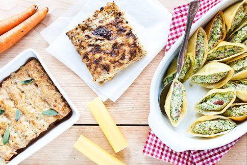 Inspirujte se třemi originálními nápady na těstoviny