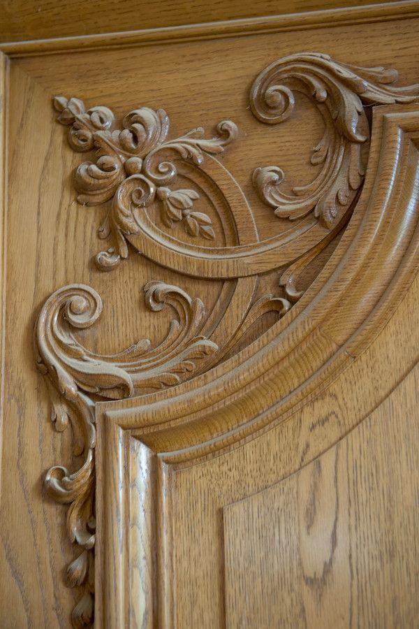 Декор двери | Резьба по дереву, кости и камню