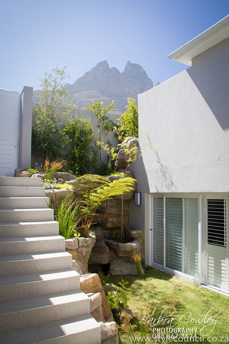 courtyard landscaping in camps bay cape town this is a