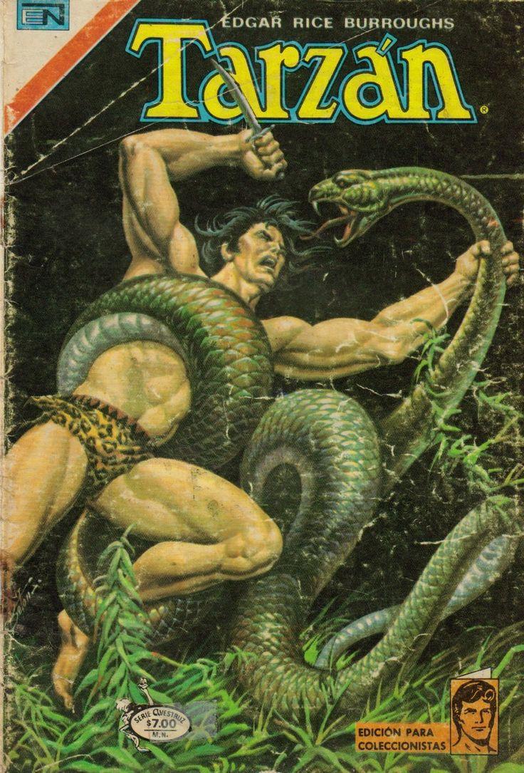 Historietas de Tarzan Editorial Novaro Imagenes Digitalizadas en DVD