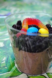 Dirt Cup Pudding... loved this when I was little