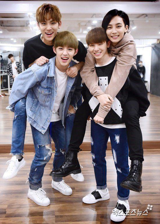 Mingyu, S.Coups, Jeonghan, Woozi
