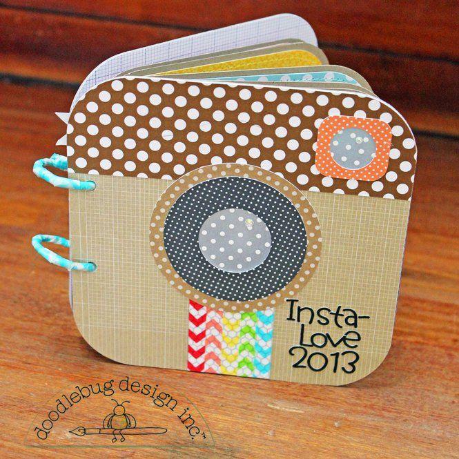 Book Cover Portadas Instagram : Layout doodlebug design insta faves mini album