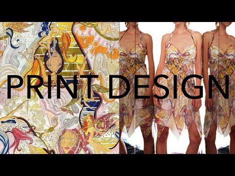 Print Design Process Tutorial - YouTube