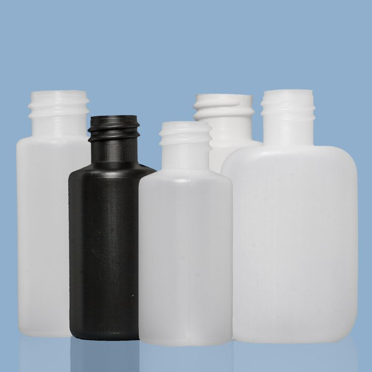 30ml HDPE bottles.Natural HDPE is an opaque plastic, allowing you to see your product level easily. We also stock black HDPE in some sizes. HDPE is a lighter, more durable and more cost effective alternative to glass. HDPE is suitable for most food stuffs.  HDPE plastic containers are suitable for a range of applications and products such as detergents, shampoo and conditioner, oils, cleaning products, car cleaning products, creams, lotions, soaps, paints and glue.