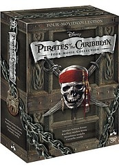 Pirates Of The Caribbean 1-4 dvdbox 9,99