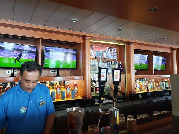 Sports Bar, Deck 11 Aft, Norwegian Sun Bahamas cruise