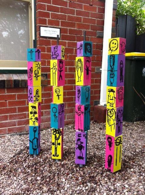Identity Totems @ New Horizons Preschool