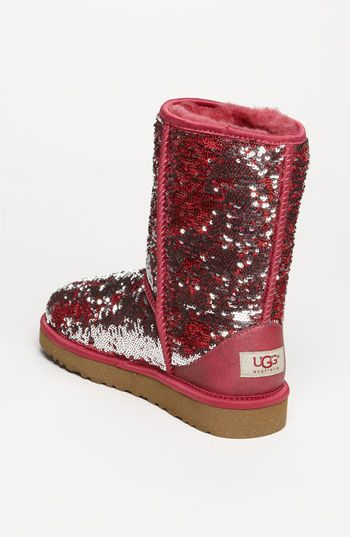 UGG® Australia 'Classic Short Sparkle' Boot (Women) )(Nordstrom Exclusive)   Nordstrom Size 10