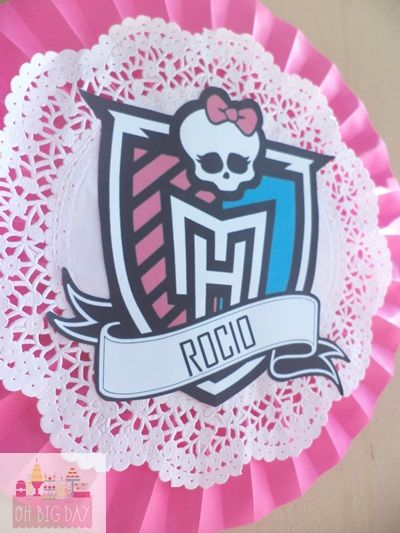 ♡ Candy Bar Monster High ♡