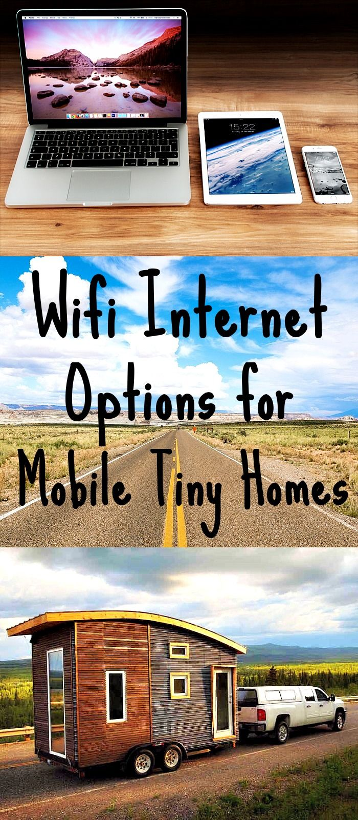 Many who live in mobile tiny homes need internet access for both running an online business and for staying updated on various subjects. In this post, Wifi internet options will be explained in detail as well as where to buy wifi data plans and hotspot devices. Click through to learn more and stay tuned for a final sequel post covering satellite tiny home internet options. #internet #wifi #tinyhouse #tinyhome