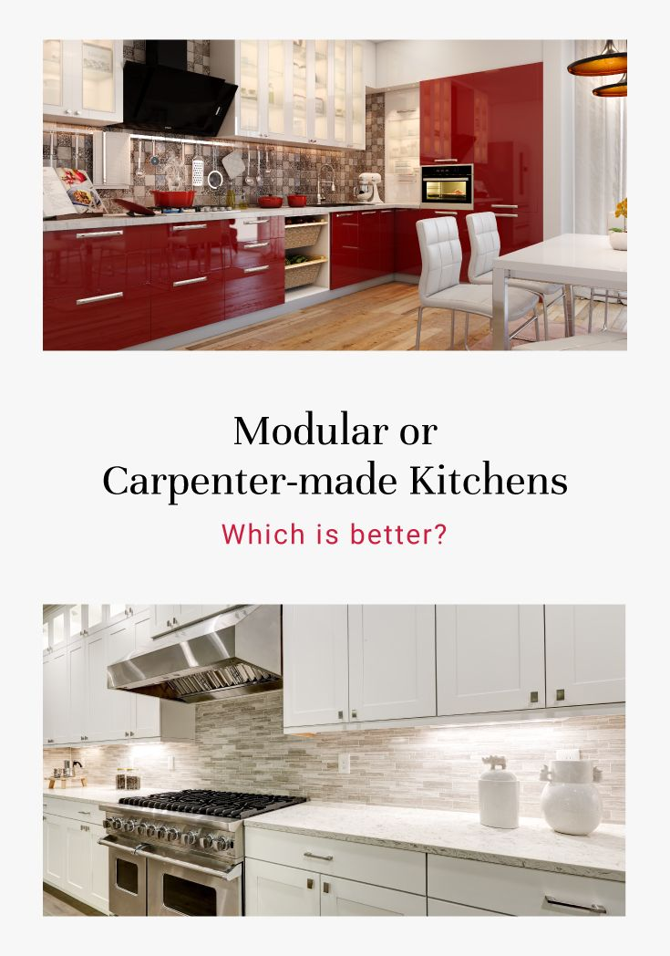 Modular Vs Carpenter Made Kitchens Which Is The Best Choice For You Kitchen Design Building A Kitchen Modern Kitchen Design