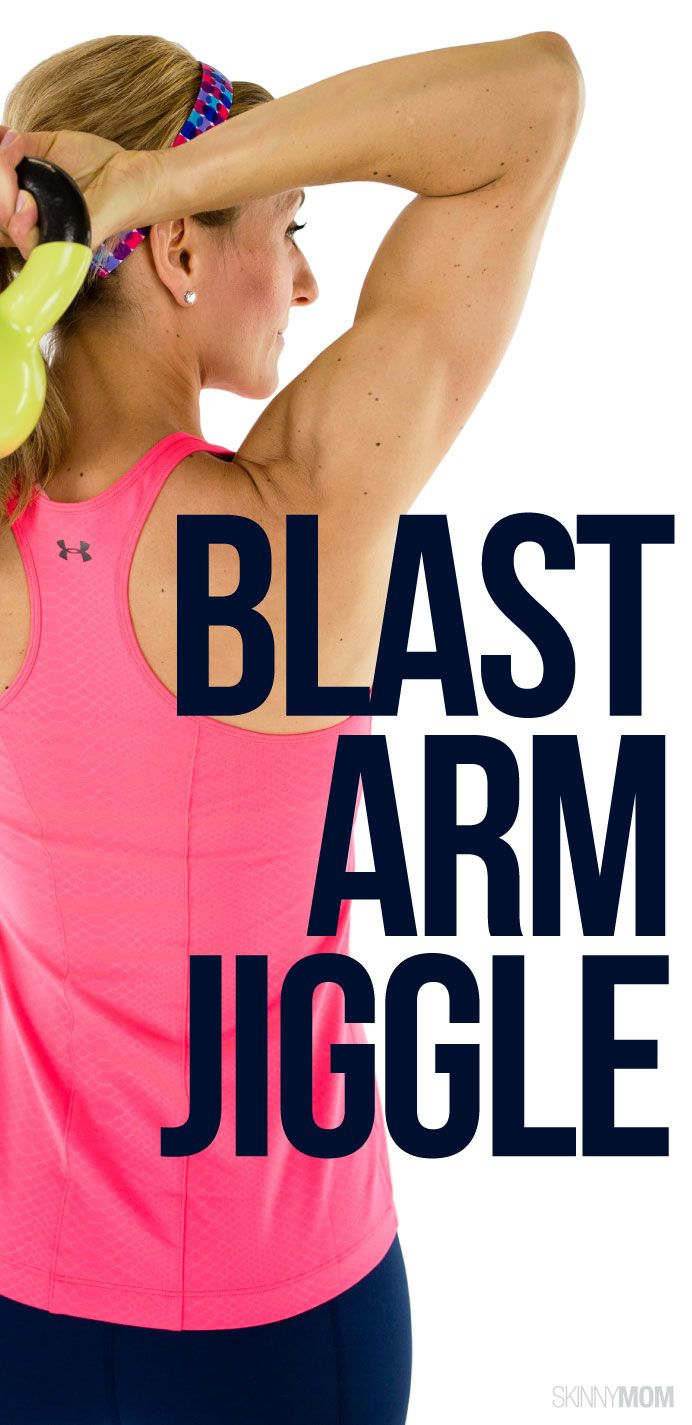 Blast the extra arm jiggle with these tricep-toning exercises!