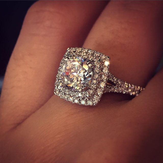 Best 25 Square engagement rings ideas on Pinterest