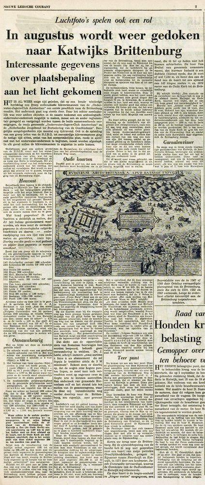 Nieuwe Leidsche Courant   1 juli 1960   pagina 7  (7/16)