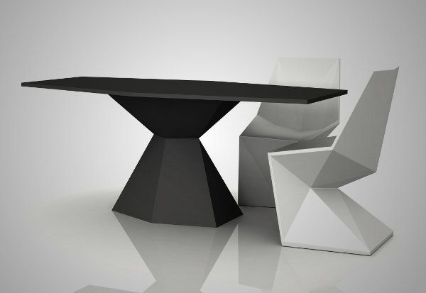 Karim Rashid Vondom Vertex Chair in Faceted Form Factor design #Trend #Surface