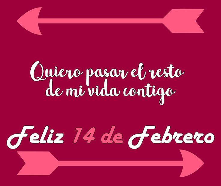 Sí quieres hacer este 14 de febrero especial para tu pareja, dedícale estas frases bonitas de amor.   #frases #frasescortas #frasesparadedicar