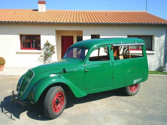 Peugeot 202 UB Boulangere 1939