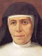 Santa María Dominica Mazzarello, cofundadora con Don Bosco de las Salesianas o HIjas de María Auxiliadora..