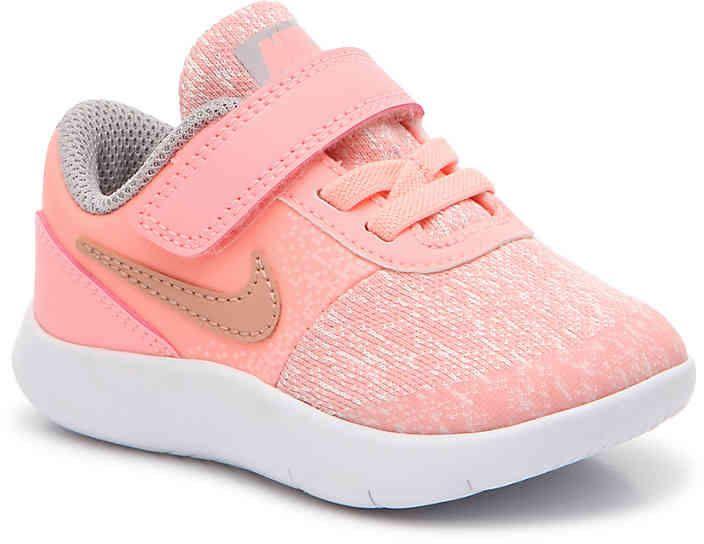 Nike Flex Contact Infant Toddler Sneaker Girl S Baby Girl Shoes Nike Toddler Sneakers Girl Toddler Girl Shoes
