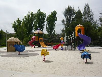 Granada Park in Mission Viejo is a few blocks across Crown Valley Parkway from Mission Viejo Mall. A great stop for little ones needing outdoor time.