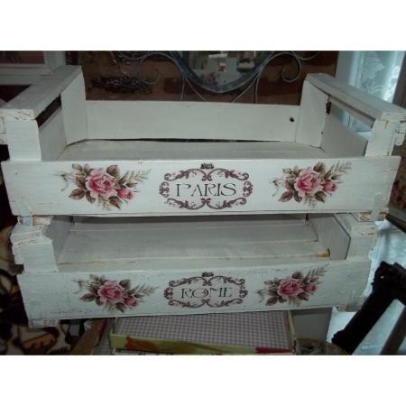 Cajones Shabby Chic Antiguos Intervenidos Decape Vintage $ 220.0 - ROMANTIC*CHIC