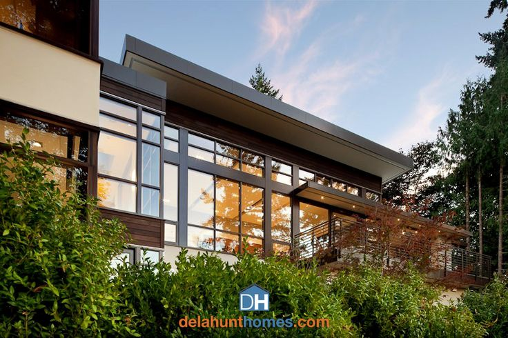 Custom homes in the Pacific NW - Delahunt Homes - delahunthomes.com - #customhomes #remodeling #luxuryhomes #homebuilders