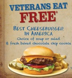memorial day free meal 2015