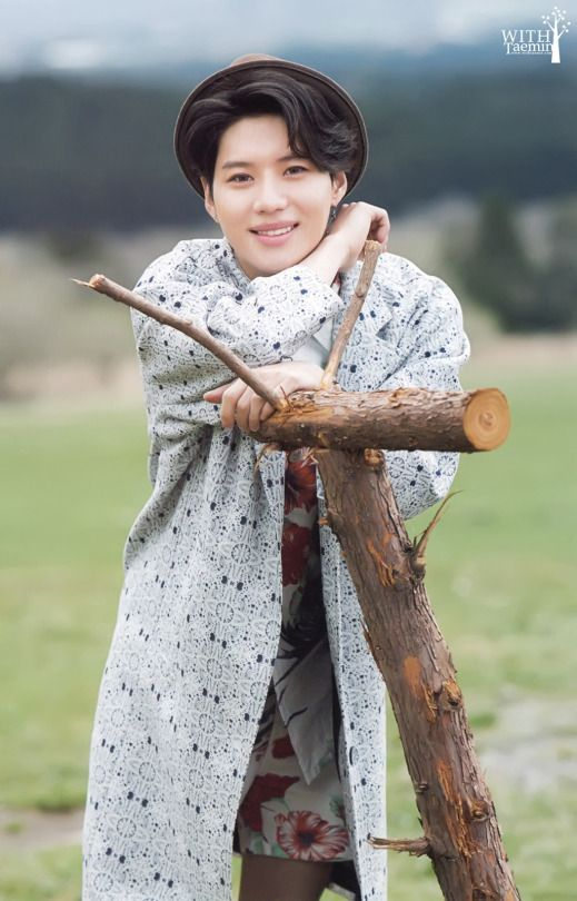 Taemin on his ranch in Texas lol