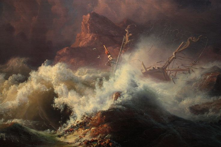 Knud-Andreassen Baade - The Wreck c.1835