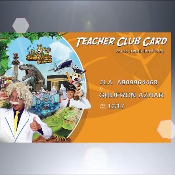 Launching TCC (Teacher Card Club) hari ini!!!! Bakal banyak promo khusus untuk para guru yang memiliki kartu TCC nih! #jungleland #duniaceria #wahanaseru #junglelandsentul #petualanganseru